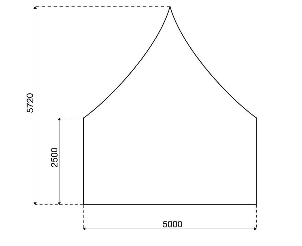 Размеры VIP шатра