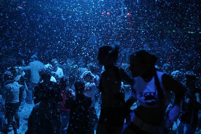Генератор снега, снег машина для свадеб и праздников